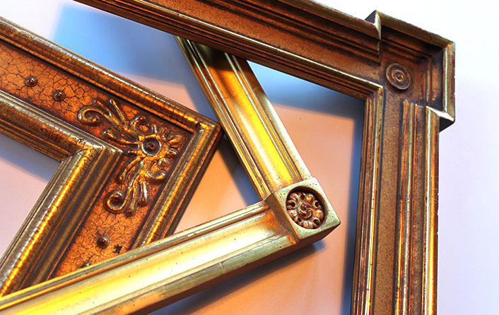 photo of frame samples